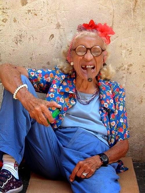 фото глых бабушек