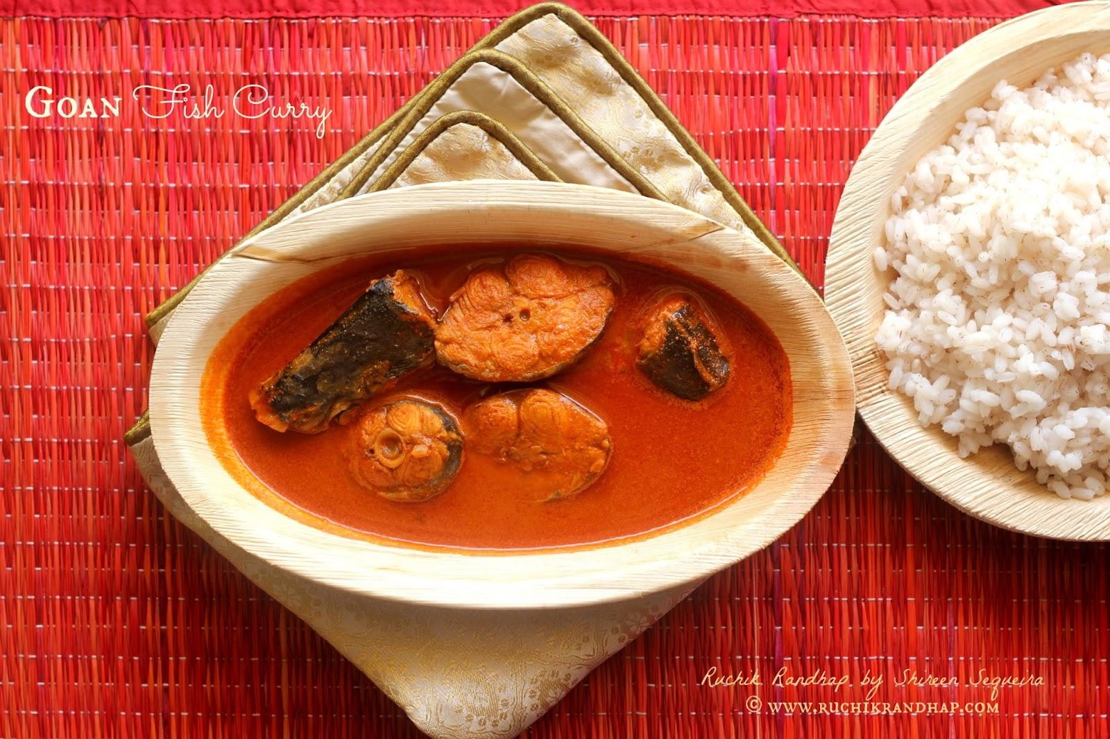 Goan fish curry ruchik randhap for Goan fish curry recipe