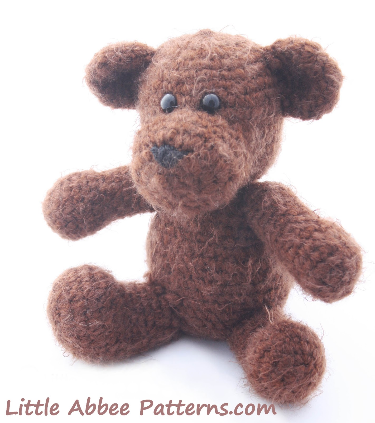 Free Crochet Patterns For Teddy Bear Sweaters : Little Abbee: Teddy Bear and Sweater FREE Pattern