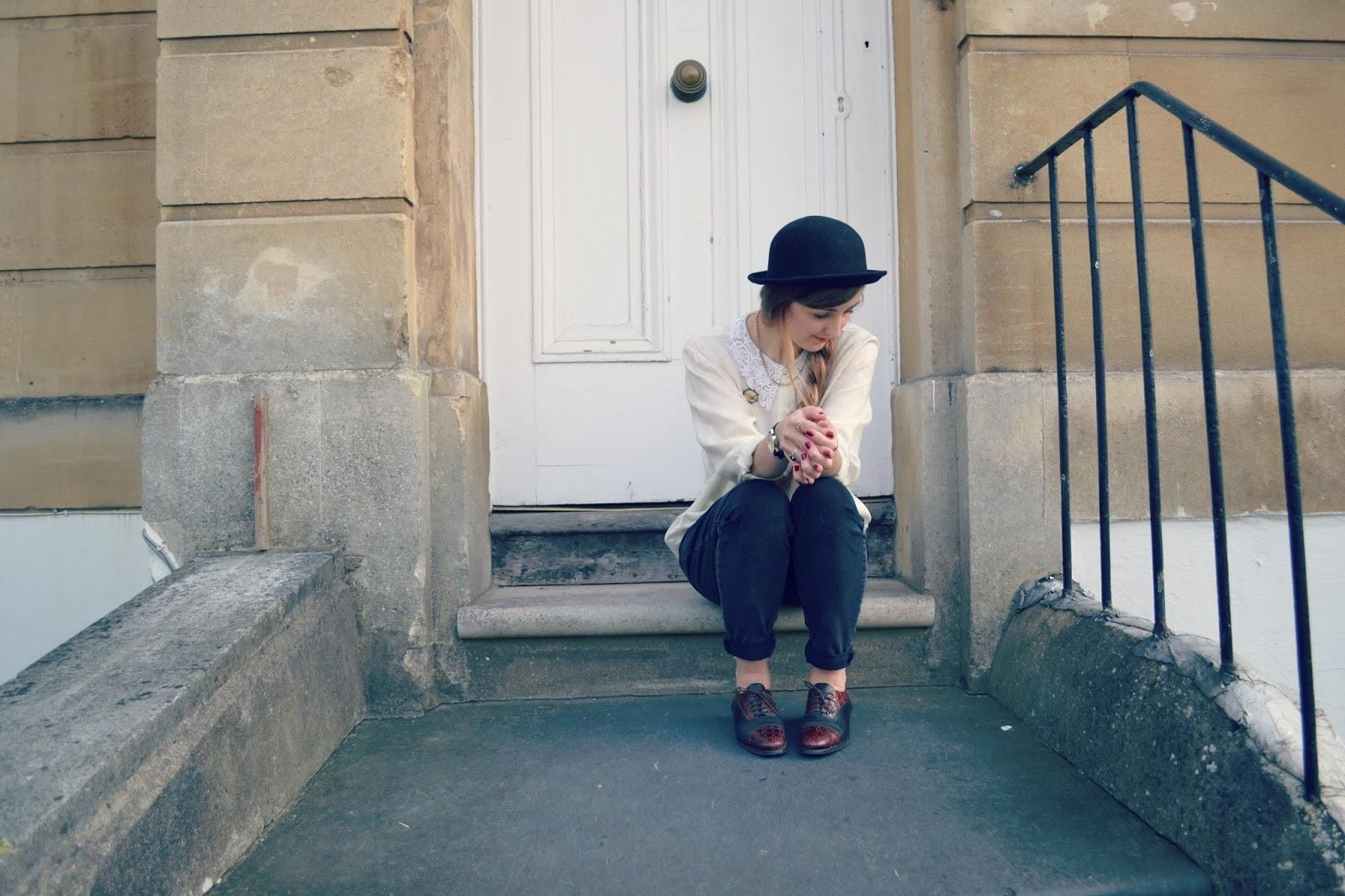 blogger vintage whistles h&m