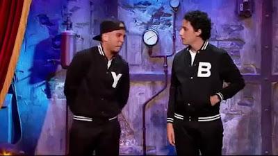 Younes et Bambi - Jamel Comedy Club 2015 - Clash entre un Arabe et un Juif.