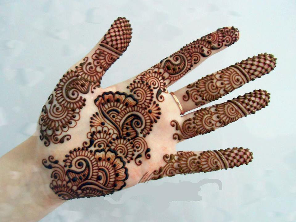 Mehndi Designs Hands Arabic Latest : Mehndi designs arabic video for hands simple and easy