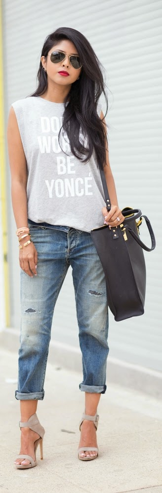 DON'T WORRY BE YONCE | Chic Street Outfits