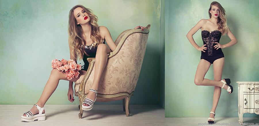 Lady Stork primavera verano 2015 moda.