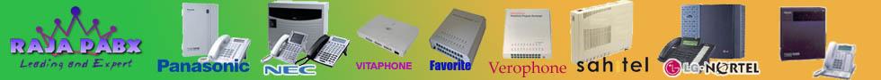 Pabx Panasonic,Nec,Sahitel,Vitaphone,Favorite,Lg,Nortel,sahitel