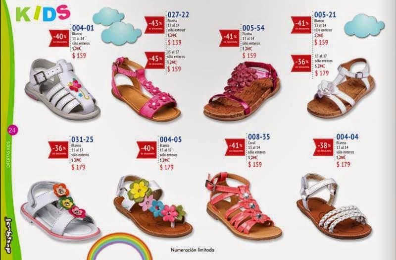 zapatos de niñas PV 2015
