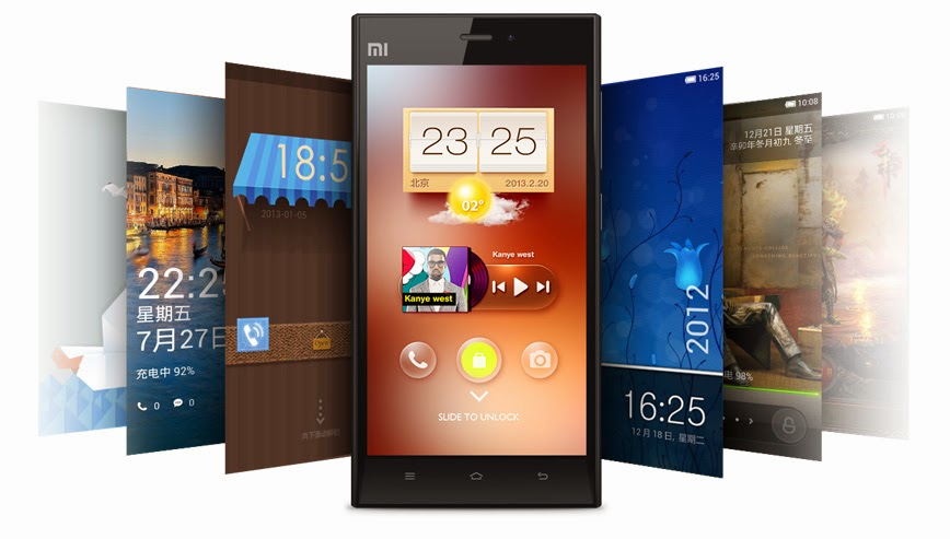 Xiaomi Mi3 make it yours customization