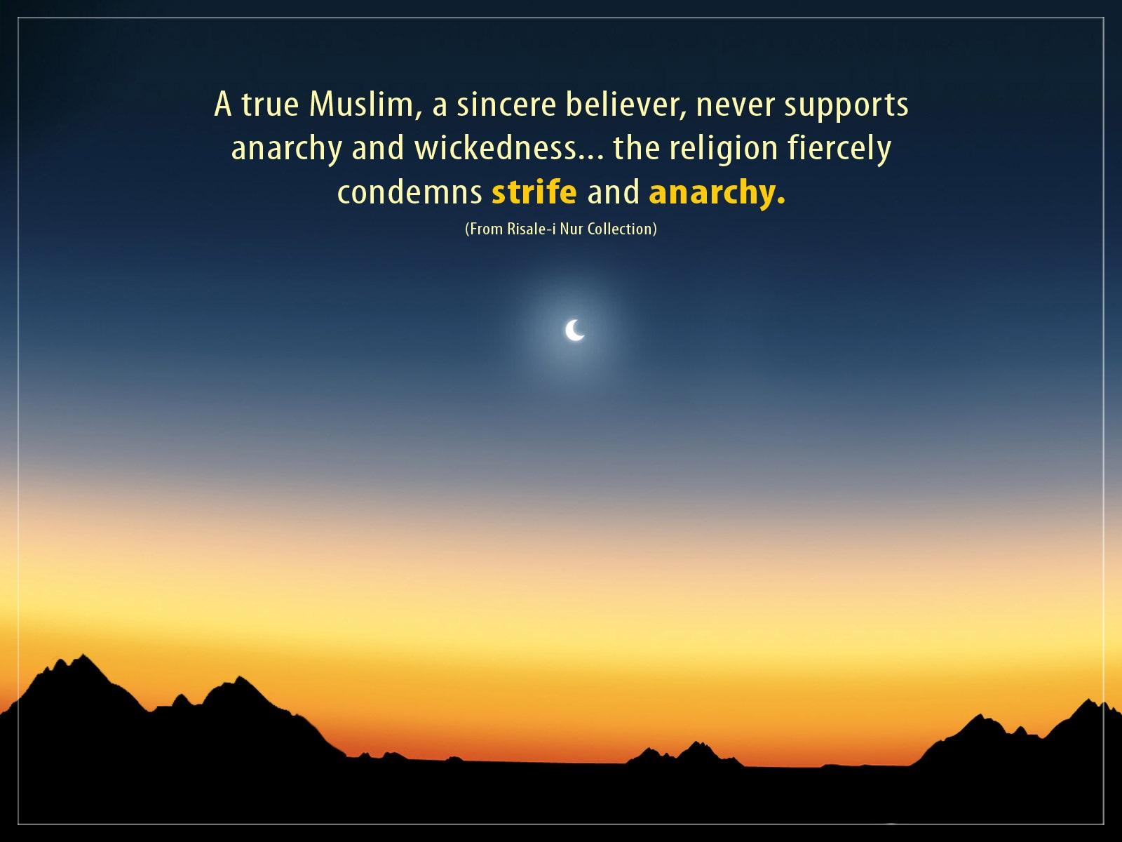 a true muslim