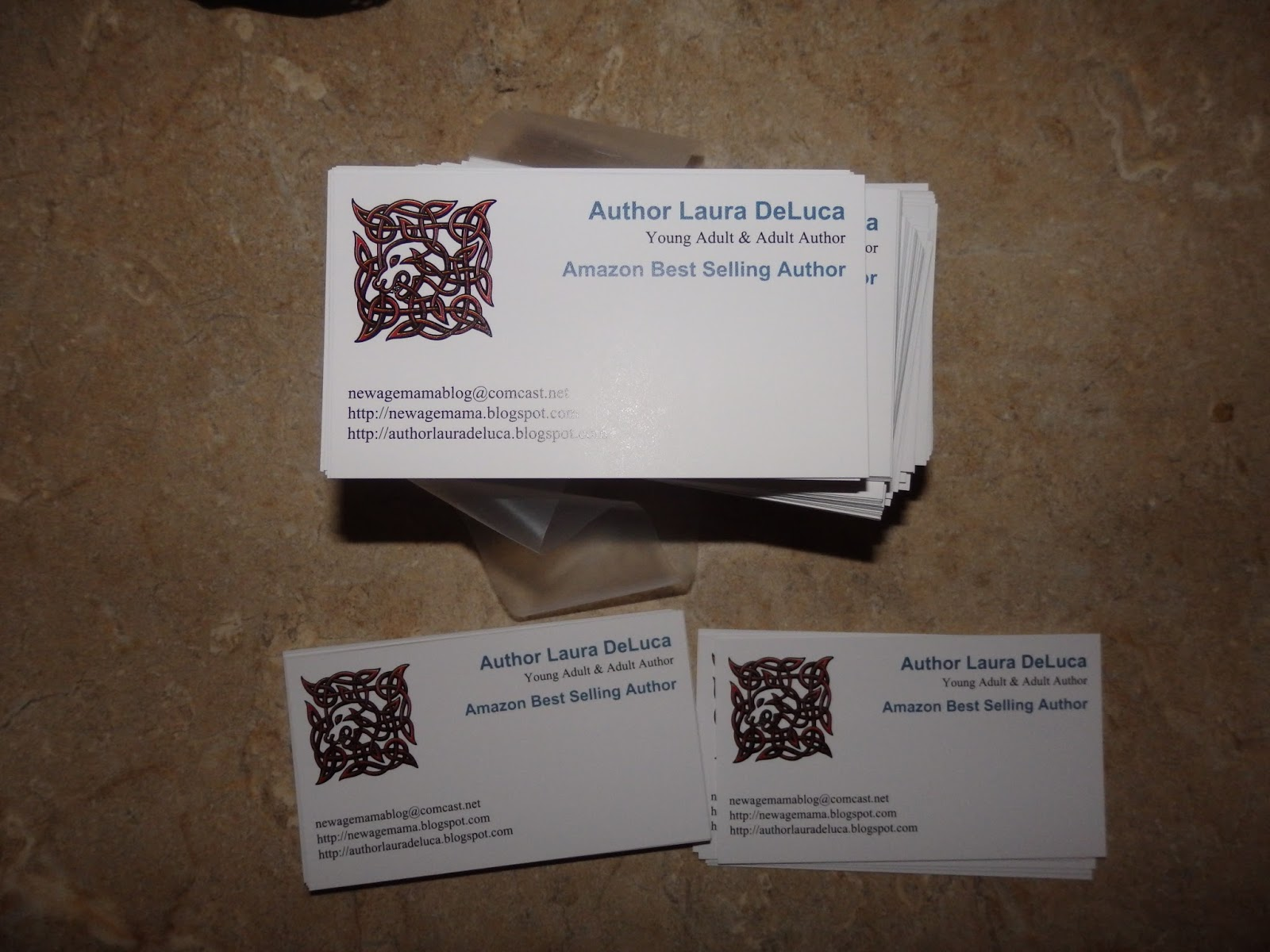 New age mama affordable business cards delivered quick from staples my thoughts having business cards reheart Images