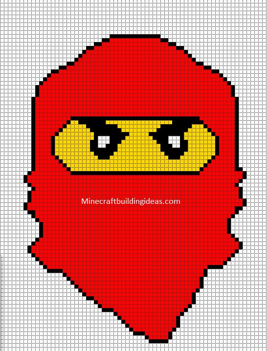Lego Ninjago Red