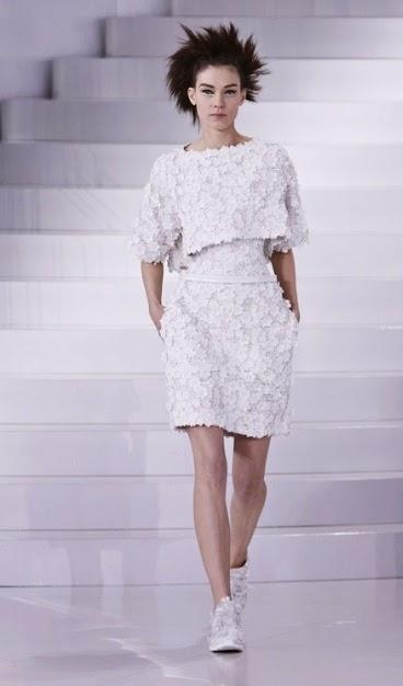 vestidos de chanel colección primavera verano