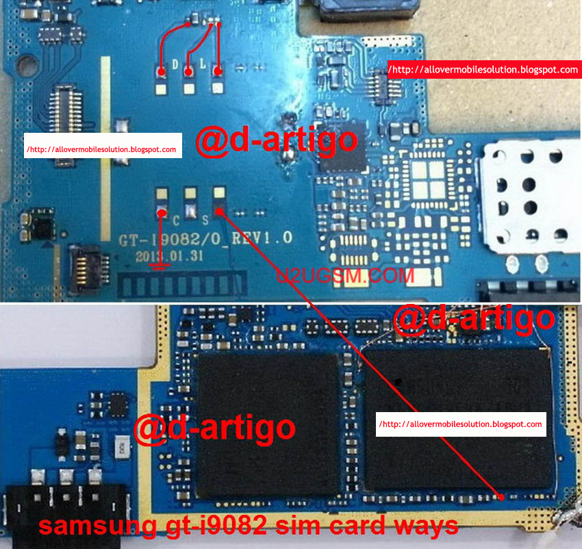 All Over Mobile Solution  Samsung Galaxy Grand I9082 Insert Sim Ic Solution