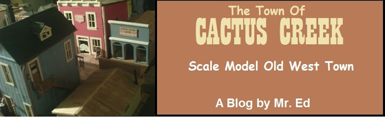 Click here to see my scale model old west town