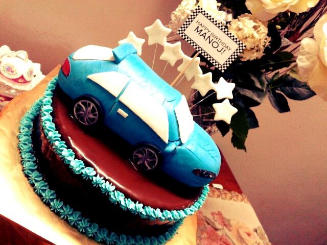 Cake Images Manoj : Awesome Cupcakes!: The blue car