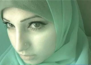 fashion women HIJAB Make Up Tips