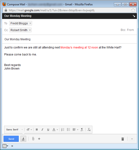 gmail help and information changes to gmail compose