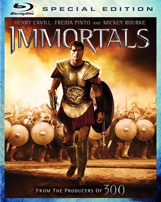 immortals bluray Immortals [2011] BRrip 720p Dual Latino Ingles