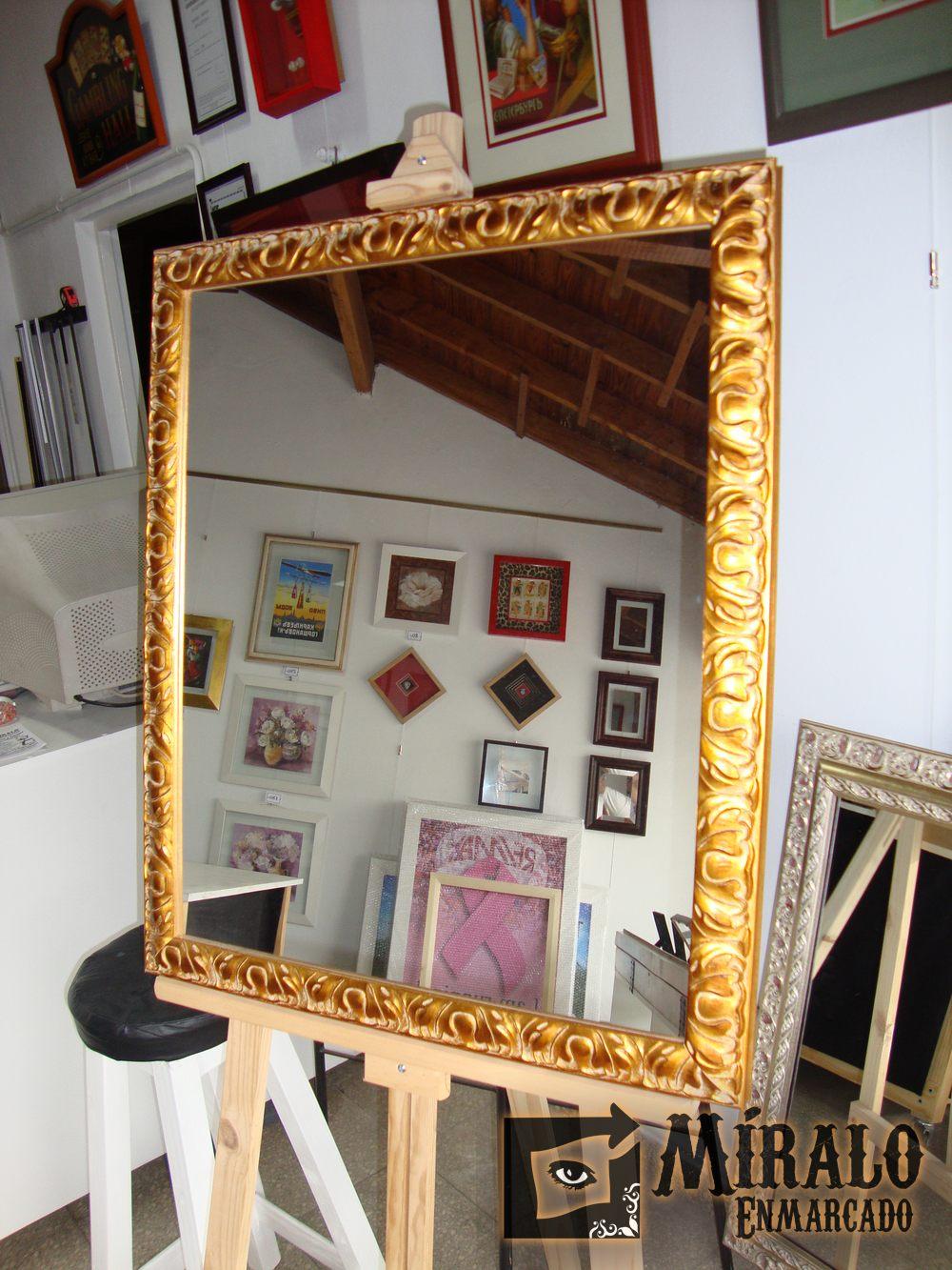 Espejos decorativos a medida for Espejos decorativos alargados