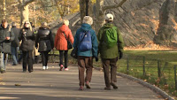 Walking Slowly in the Elderly an Early Sign of Alzheimer's | Alzheimer's Reading Room