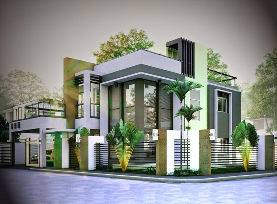 desain gambar rumah mewah