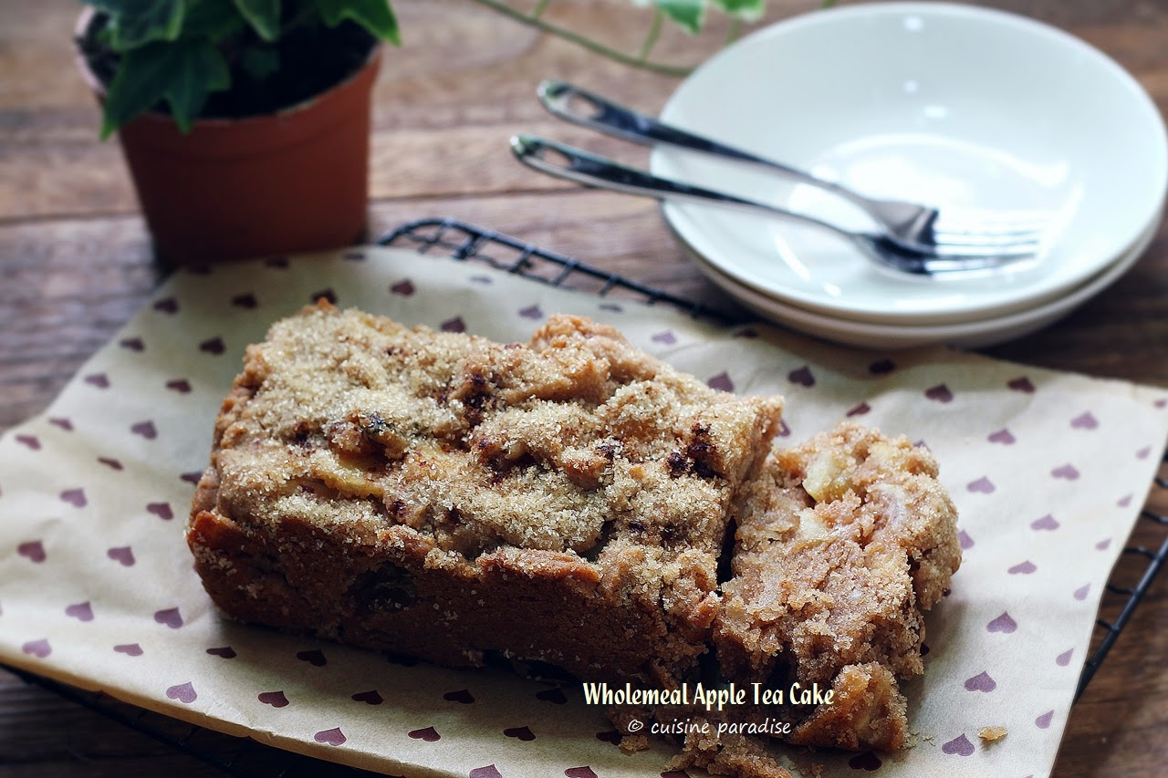 Wholemeal Apple Cake Recipe