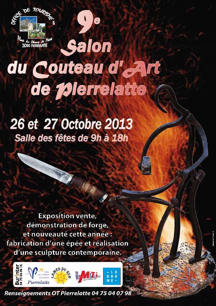 Salon du couteau d 39 art de pierrelatte salon du couteau 2013 for Salon du couteau paris