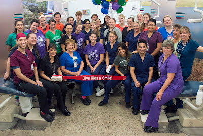 Rio Salado Dental Clinic staff, volunteers and students at July 8 Community clinic