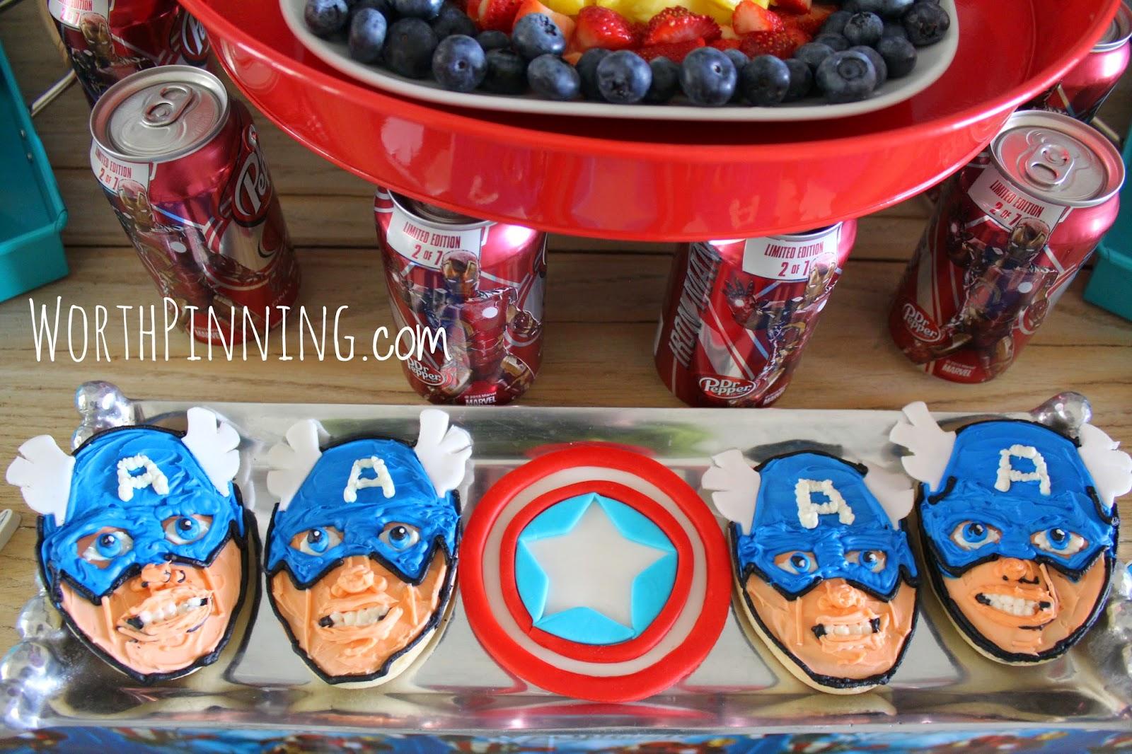 Captain America Cake Singapore