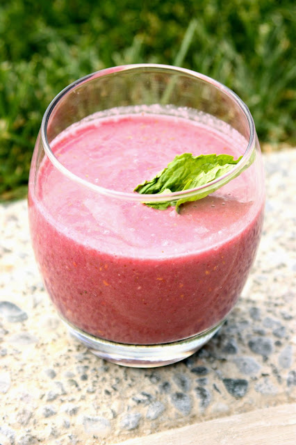 Berry Mint Chocolate Bliss Smoothie