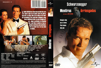 Mentiras arriesgadas (1994) | Caratula, cover, dvd