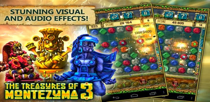 Download The Treasures of Montezuma 3 1.1.0 Apk (Premium Edition)