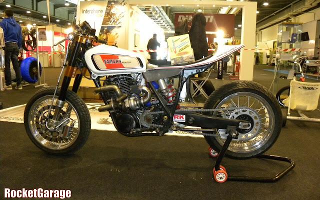 Xt 500 turbo rocketgarage cafe racer magazine for Garage yamaha scooter