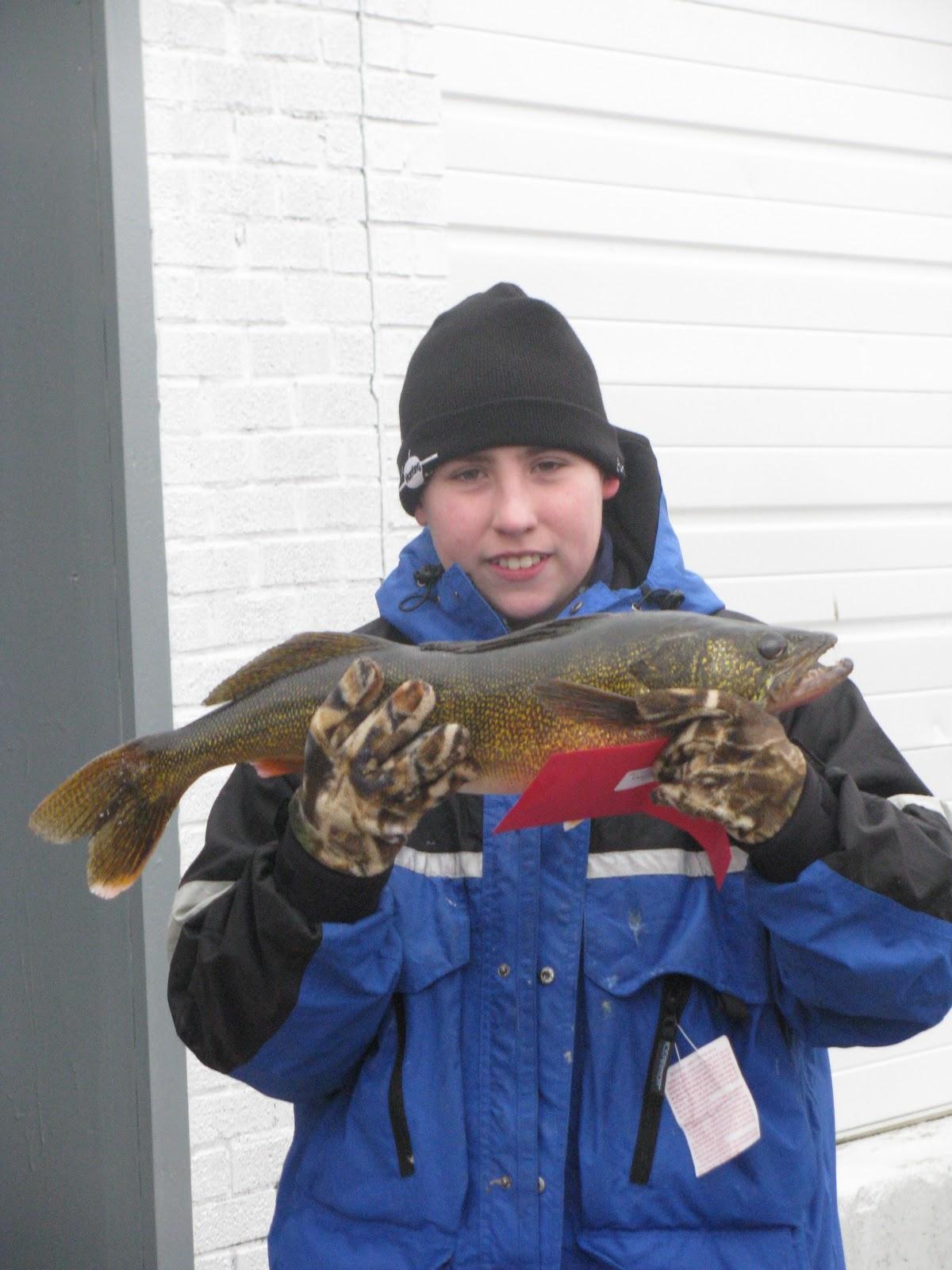 Houghton lake walleye report budd lake tournament 2 20 11 for Enid lake fishing report
