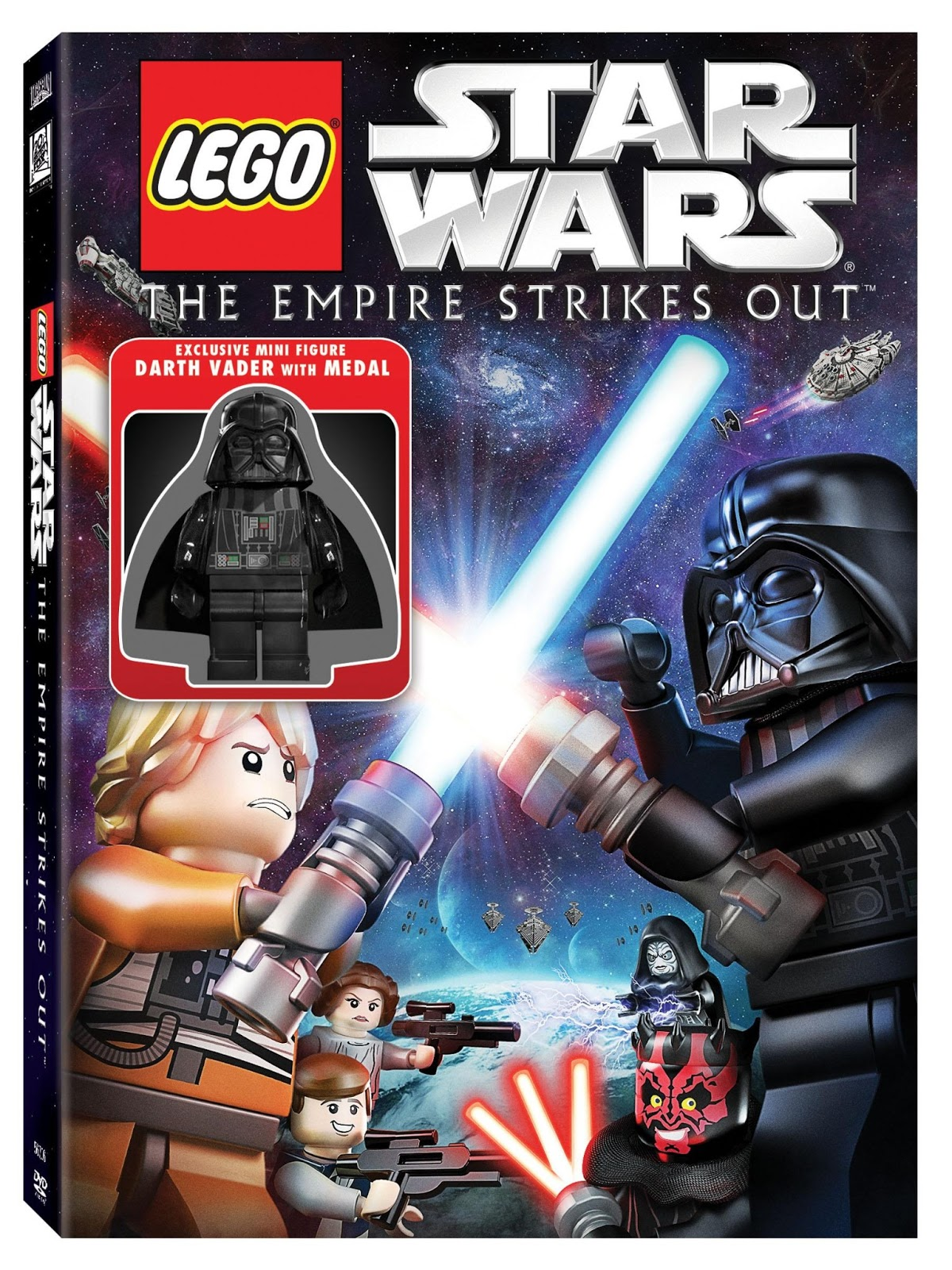 deal ightfully frugal lego star wars the empire strikes out dvd review. Black Bedroom Furniture Sets. Home Design Ideas