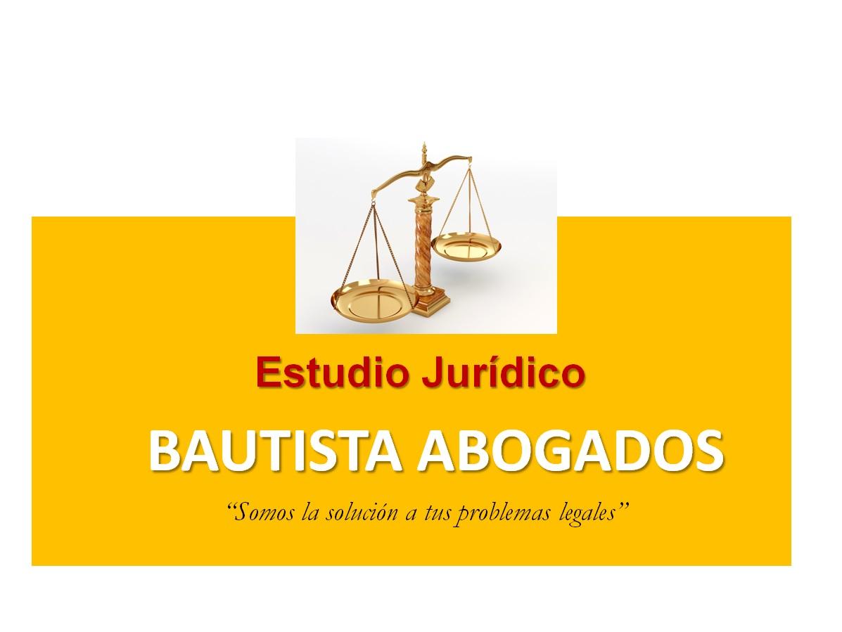 ESTUDIO JURÍDICO BAUTISTA ABOGADOS