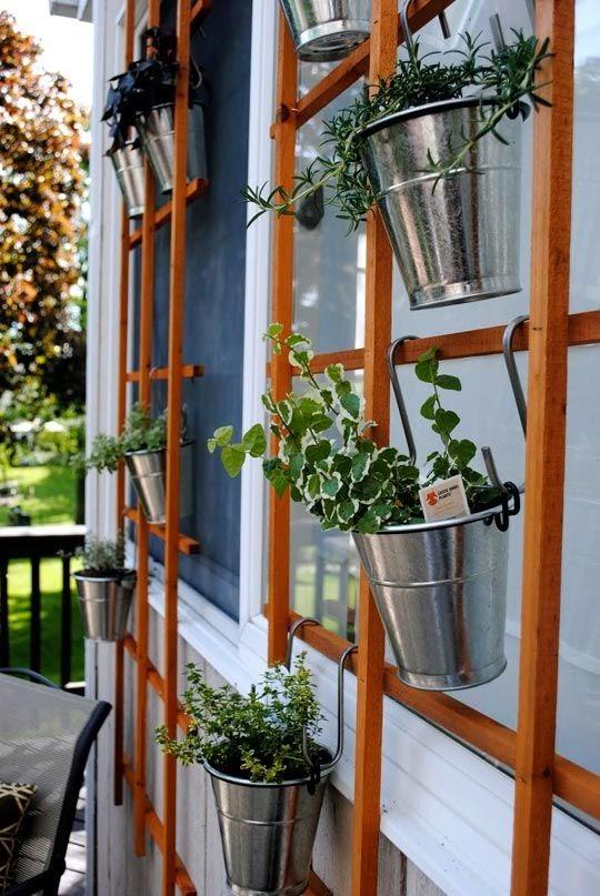 25 cute & simple herb garden ideas | VINTAGE ROMANCE STYLE
