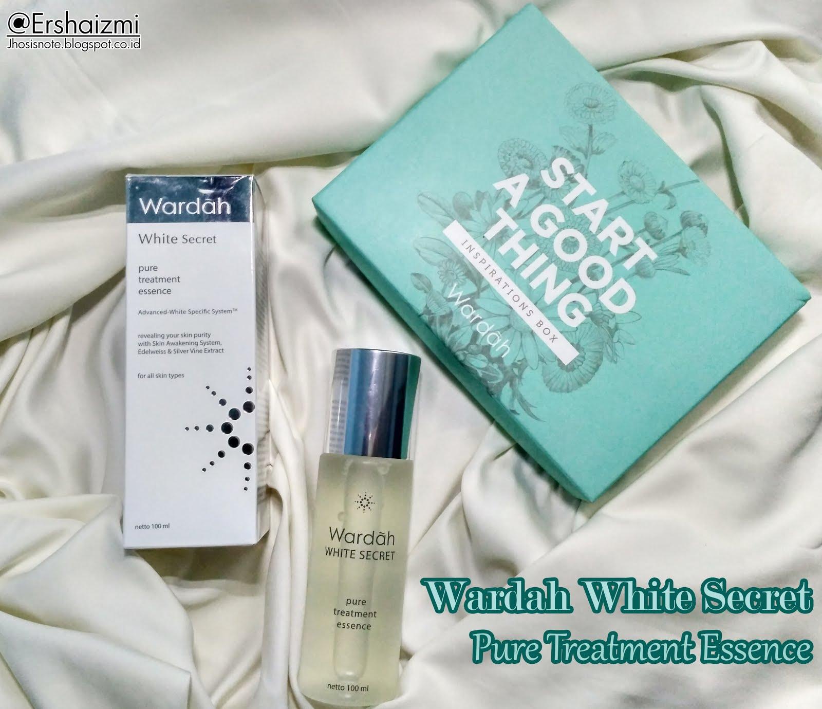 Wardah White Secret Pure Treatment Essence Review Daftar Harga Pte