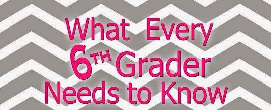 WHAT EVERY 6TH GRADER NEEDS TO KNOW Cover Reveal & Giveaway