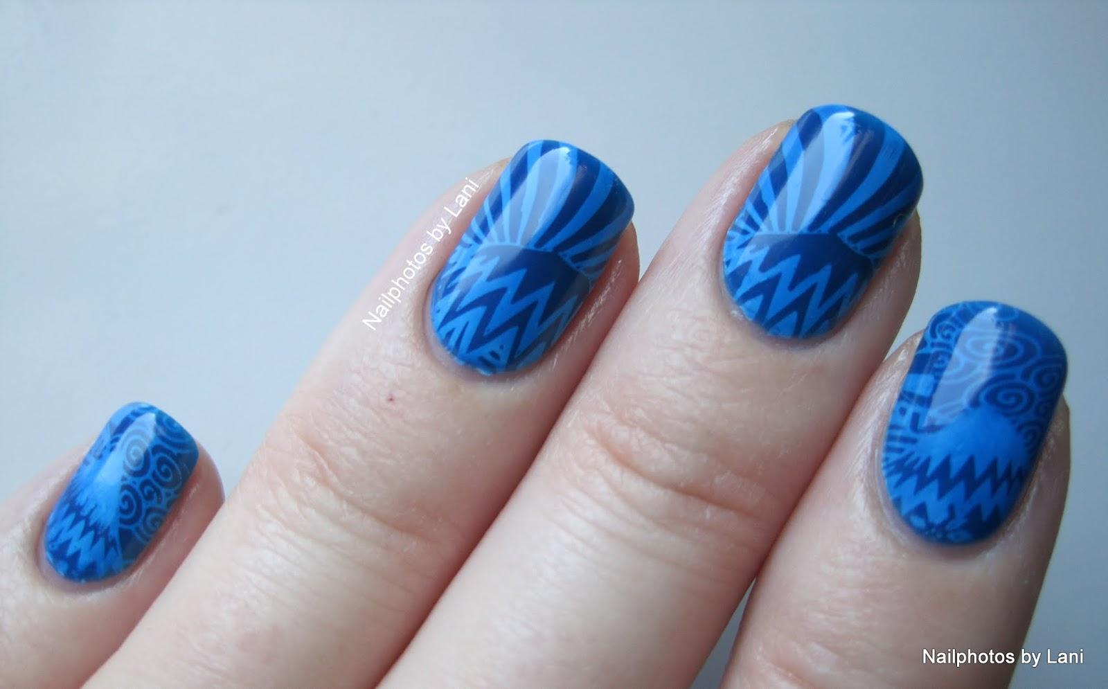 Nailphotos by Lani: Norway Nails Nail Art Diabetes Awareness Contest ...