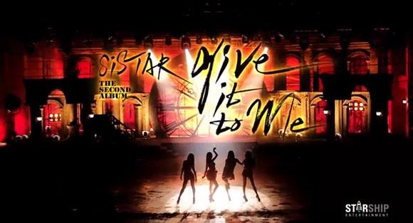 Sistar quá quyến rũ với MV Give It To Me