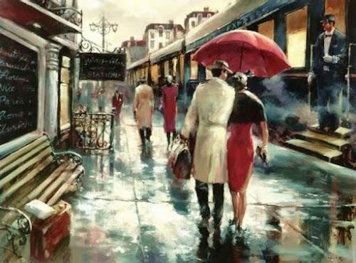 Amor, chuva e poesia