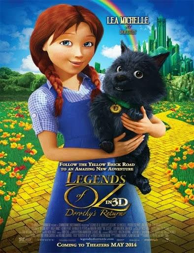Ver Legends of Oz: Dorothy's Return (2014) Online