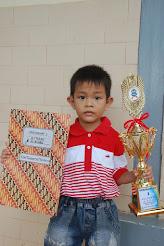 Ezer Twopama Manihuruk Peringkat 1 Kelas TKA Xaverius 2 Jambi