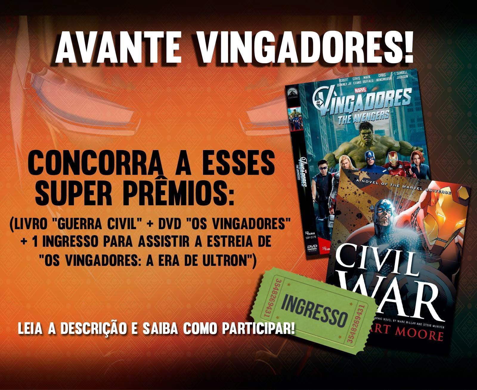 Promoção: Avante Vingadores