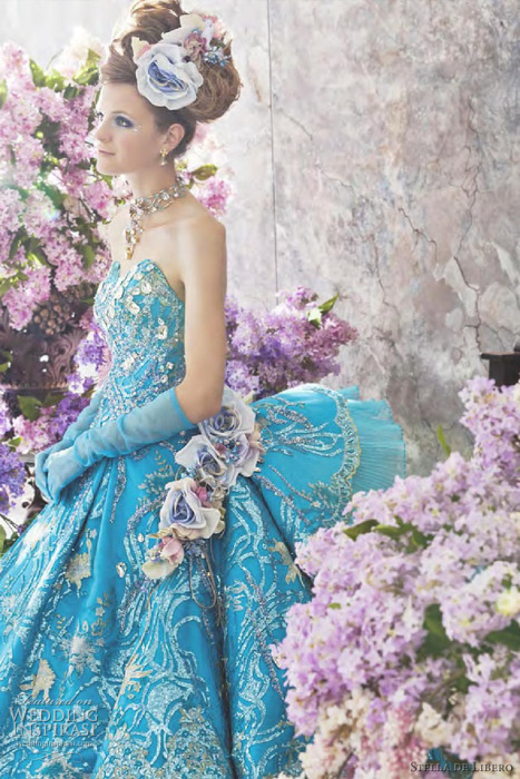 Wedding Dresses Turquoise 64