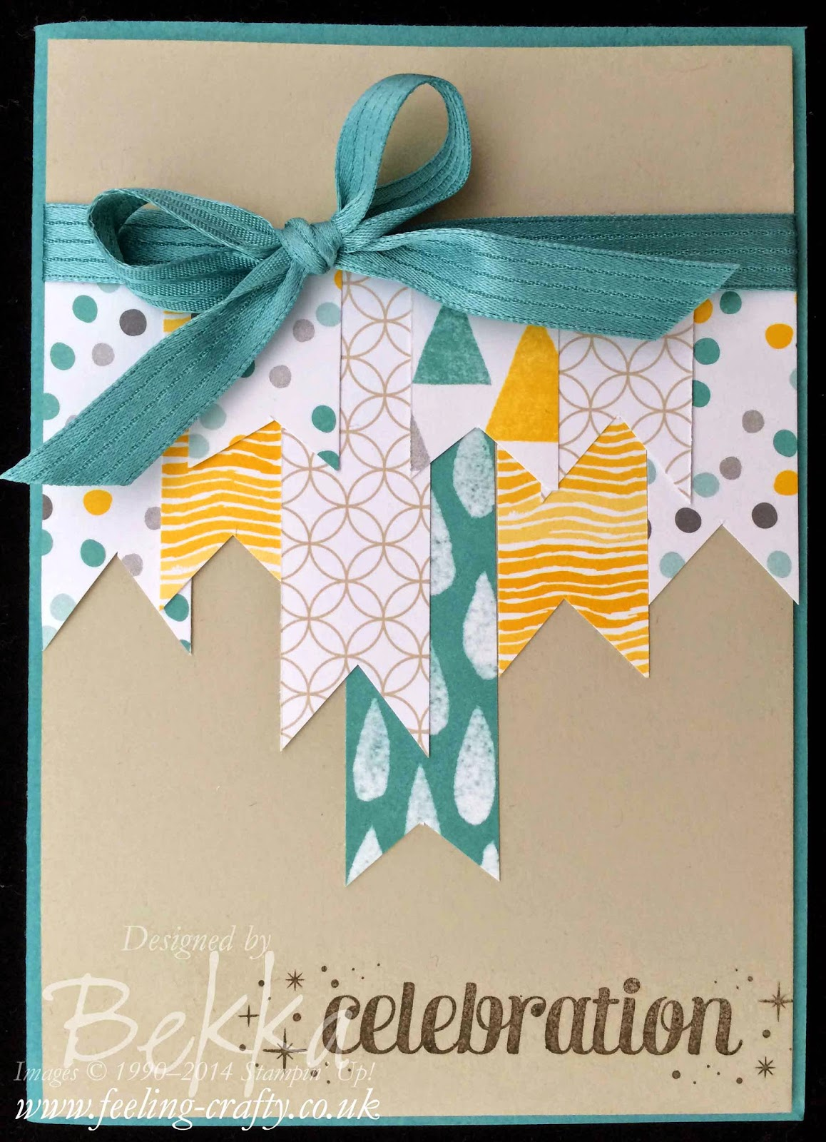 A Card Using Up Scraps of Paper & Other Scrapbooking Supplies