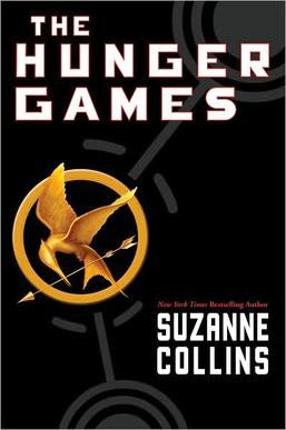 The Hunger Games a futuristic dark novel by Suzanne Collins