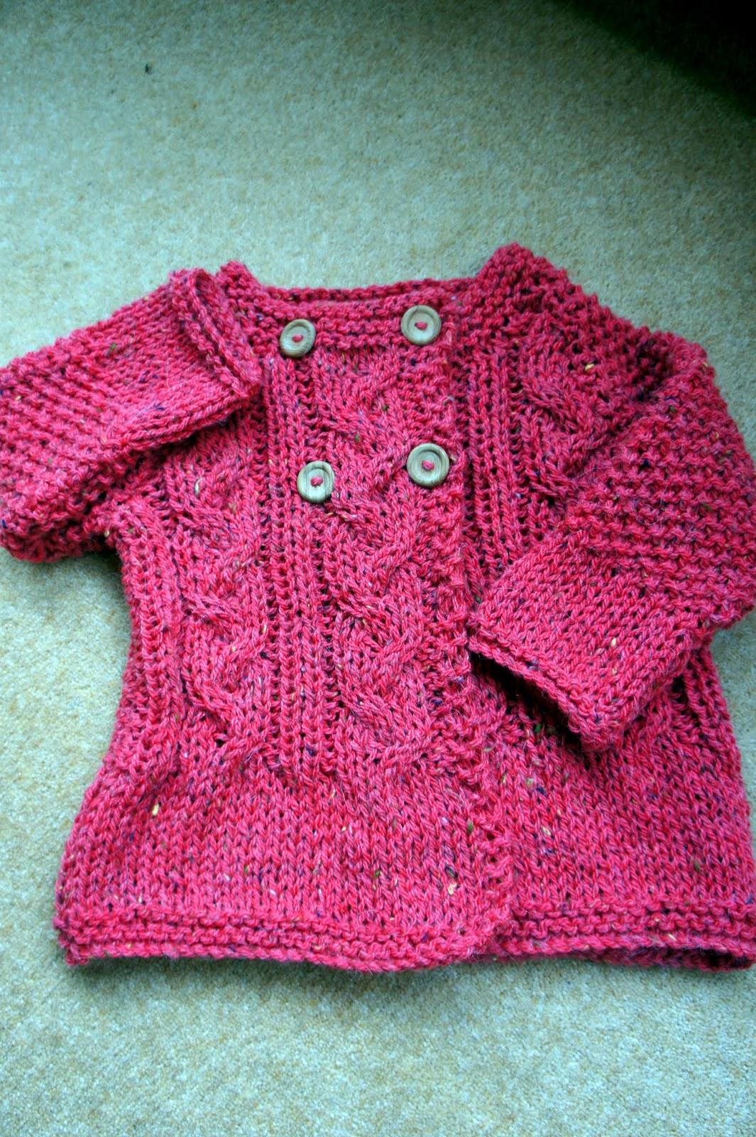GRANNYS WORLD: Knitting - love a quick knit!