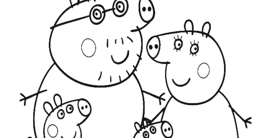 DESENHOS PEPPA PIG PARA COLORIR Colorir Desenhos Para