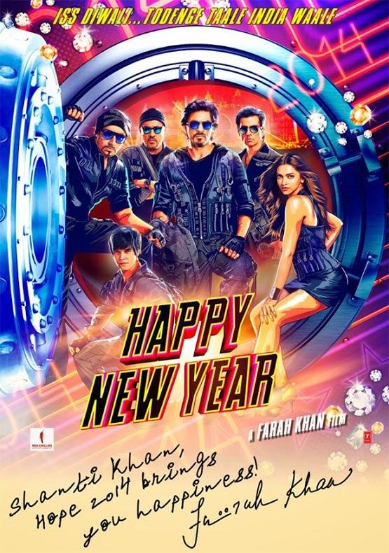 Farah Khan - Happy New Year 2014 Film HNY - Shanti Khan - Hope 2014 Brings You Happiness
